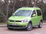 Essai Volkswagen Cross Caddy 1.6 TDi 102 BlueMotion DSG 2014