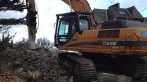 Lundi, le chantier de démolition démarre