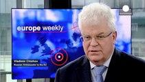 """A Euronews l'ambasciatore russo Vladimir Chizhov: """"Non abbiamo truppe alle frontiere con l'Ucraina"""""""