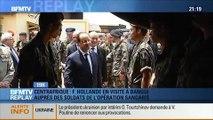 BFMTV Replay: Hollande rend visite aux soldats déployés en Centrafrique - 28/02