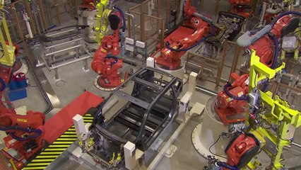 BMW i3 Production Process [2 of 3]