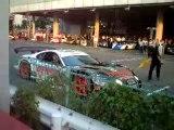 JGTC Toyota Supra HV-R Hybrid Race Car in EV mode