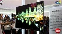 CES 2012 : Les TV LG 3D grand écran et très haute résolution en vidéo