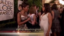 Kerry Washington - 2014 Golden Globe Awards - Red Carpet