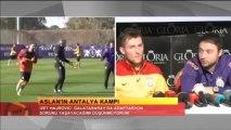 FUTBOL  Basın Toplantısı Izet Hajrovic ve Claudio Taffarel