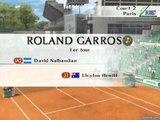 Roland Garros 2005  : Powered by Smash Court Tennis - Mode Roland-Garros