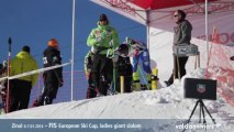 FIS Coupe d'Europe Dame à Zinal - Val d'Anniviers Video