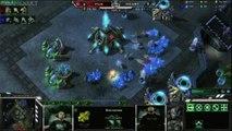 StarCraft II : Wings of Liberty - [MLG 2012] Huk vs Heart #1