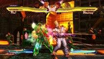 Street Fighter X Tekken - Combat de boxe ebtre Paul et Steve