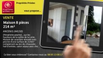 A vendre - maison - ANCENIS (44150) - 8 pièces - 214m²