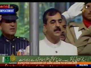 Makhdoom Babar over Musharraf's Resign