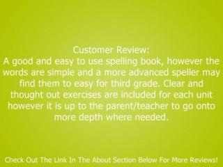 Spelling, Grade 3 (Spectrum) Review