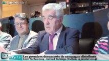 [TARBES] Municipales Tarbes 2014 - G. Trémège et le bilan (13 janvier 2014)