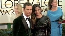 Matthew McConaughey Says Son Was His Good Luck Charm In Golden Globe Win