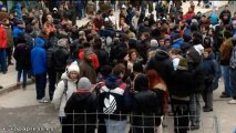 Continúan las protestas en Burgos