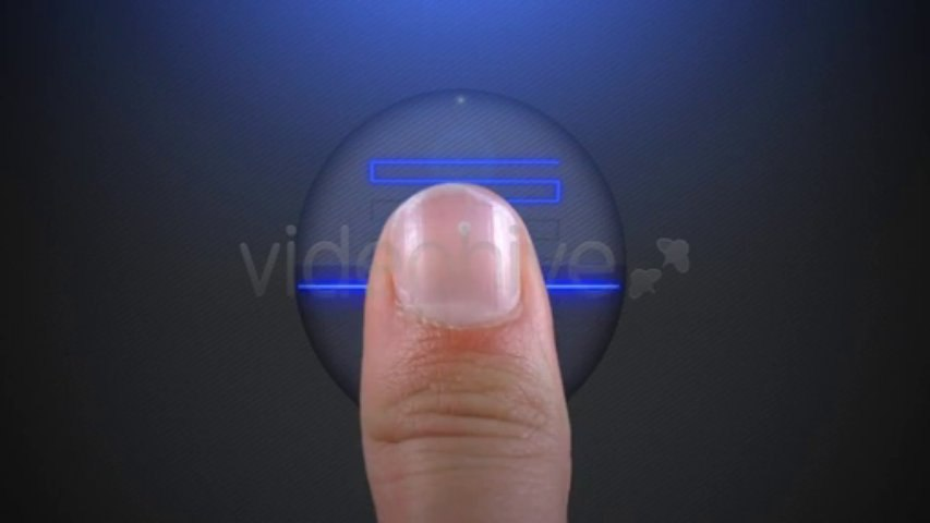 Finger Print Scan - Logo Reveal - After Effects Template