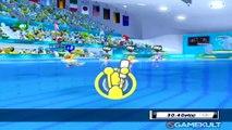 Mario & Sonic aux Jeux Olympiques de Londres 2012 - Natation synchro