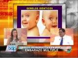 Tratamientos de fertilidad aumentan probabilidad de embarazo múltiple (1/2)