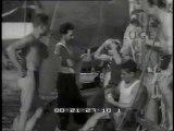 Regata dall'Isola d'Elba a Portofino  gara di motoscafi nella acqua del fiume Detroit  in una piscina di Hollywood giovani atlete si esibiscono nei tuffi.