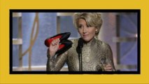 Emma Thompson siparietto ai Golden Globes