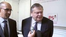 Rencontre entre Harlem Désir et Evàngelos Venizélos, Ministre grec des affaires étrangères et Président du Mouvement socialiste Panhellénique (PASOK)