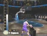 NBA Live 2005 - Concours à 3 points