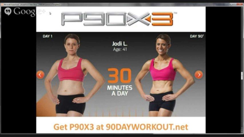 Brand-New P90x3 Workout Fitness Workout Program