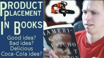 Product Placement in Books? Good idea? Bad idea? Coca-Cola idea?