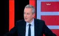 PP3-14/01/14- Bruno Lemaire « Un président ne s'appartient pas il appartient au peuple Français »