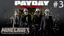 CRAZY BANK ROBBERY! :: Payday: The Heist w/ dlive22891 & Seapeekay! #3