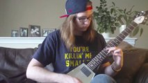 Blues Guitar Lesson - How to Apply the Guitar Modes to a Blues Solo -