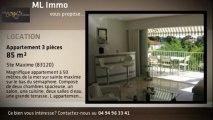 A louer - appartement - Ste Maxime (83120) - 3 pièces - 85m²