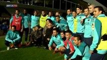 Barcelona prepare for Getafe with full squad
