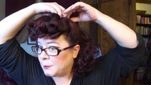Updo Choice-Betty Grable Curly Faux Bangs (Interactive)