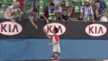 Thanasi Kokkinakis longest victory lap ever