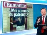 "REVUE DE PRESSE - Hollande ""s'assume enfin"" - 15/01"