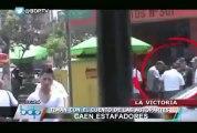 Escuadrón Verde capturó a timadores en los distritos de La Victoria y Puente Piedra