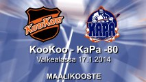 Maalikooste: KooKoo - Kapa -80 valkoinen 17.1.2014