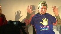 Vivienne Westwood attacks fracking 'bribes'