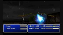 Final Fantasy 7: Cloud's Flashback of Sephiroth vs Dragon