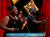 Sharon Jones & The Dap-Kings Performance Jan 15 2014