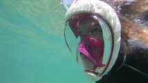 The revolution in snorkeling : the Full face mask Easybreath