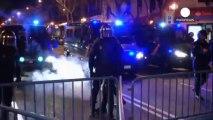Espagne : manifestation houleuse à Madrid en solidarité avec Burgos