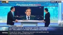 Politique Première: Le tournant de François Hollande embarrasse la droite - 16/01