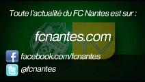 La joie du vestiaire après FCN - OGC Nice (Coupe de la Ligue)