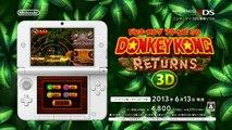 Donkey Kong Country Returns 3D - Pub Japon