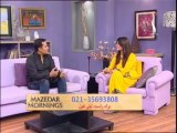 Mazedar Morning with Yasmeen on Indus TV 16-01-14 part 02