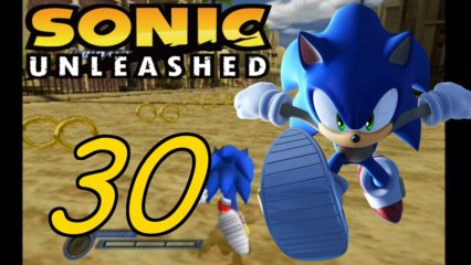 Let´s play Sonic Unleashed part 30# Shamar