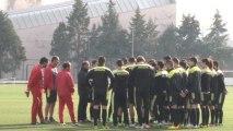 Tekden Denizlispor'da Gaziantep Büyükşehir Belediyespor Hazırlıkları