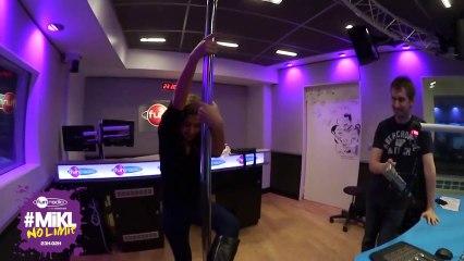 Le cours de pole dance - Fun Radio - #Mikl No limit